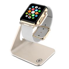 Minisuit Charging Dock Station for Apple Watch 38 or 42mm (Horizontal Gold)