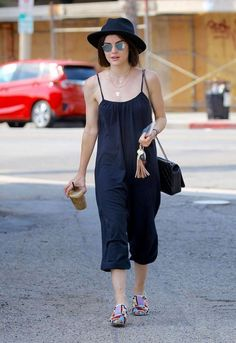 Lucy Hale out & about in Studio City