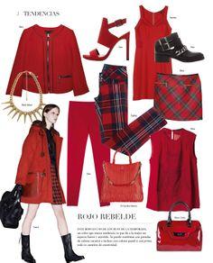 Tendencias: Rojo Rebelde #Red #WinterFashion #Style #Moda #JockeyPlaza