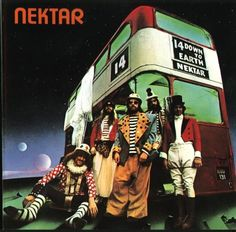 Nektar is a 1970s English progressive rock band originally based in Germany. The band's early albums were obscure psychedelic rock albums that won the band a growing cult following, based largely on word of mouth. Nektar's U.S. releases propelled the band briefly into mass popularity. They have 12 studio albums to date.