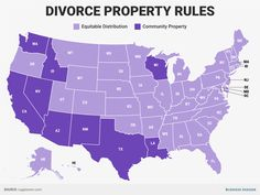 nice In 9 US states, a divorce means you'll lose half of everything you own — here's why
