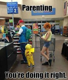 25 People of Walmart That Are Ridiculous Attention shoppers! These people of Walmart are the weirdest and funniest. You never fail to depress the rest of us about the state of humanity. Pokemon Go, Gijinka Pokemon, Pokemon Funny, Pokemon Memes, Pokemon Stuff, Cosplay Pokemon, Pikachu Costume, Pokemon Costumes, Pokemon Misty Costume