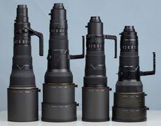 Nikon Super Telephoto Lenses......holy hell I WANT ONE!!!!!!!!