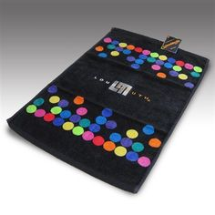 Bag Towels by Loudmouth Golf - Disco Balls Black.  Buy it @ ReadyGolf.com