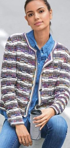 f7f8e457e4 38 Best chunky crochet cardigan pattern free images