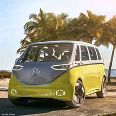 It's true, The VW camper van is returning. But this time it's electric, loaded with technological innovations and called the Volkswagen ID Buzz.