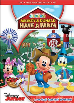 Disney Junior Mickey Mouse Clubhouse: Mickey And Donald Have A Farm