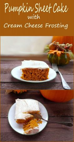 Pumpkin Cake Recipe With Cream Cheese Frosting - Teaspoon Of Goodness