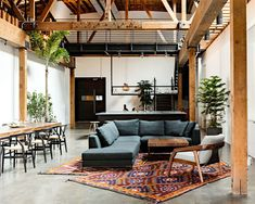 Warehouse turned into a loft office | Interior Design Ideas, Inpirations and Architecture | Interior Square