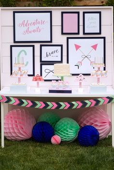 Bows and Arrows Party by Bloom Designs