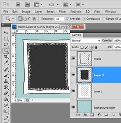 How to Create Hand Drawn Frames in Photoshop.