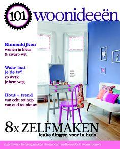 Cover Dutch creative interior magazine 101Woonideeen 06-2011