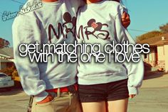 I want matching Mickey and minnie mouse hoodies /and wear them to disney land/ >.< dont judge me :3