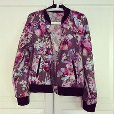 flower bomberjacket