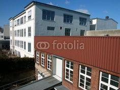 Restaurierte Fabrikgebäude der Gründerzeit in Bielefeld Schildesche in Ostwestfalen-Lippe im Teutoburger Wald