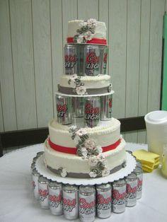Coors light wedding cake