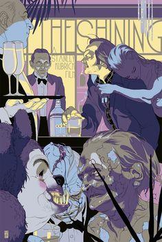 Tomer Hanuka art illustration color  poster movie