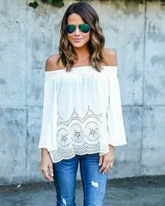 I love white!! So perfect for spring.