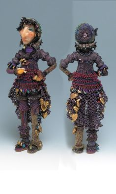 Doll with Seed Beads - Fire Mountain Gems and Beads
