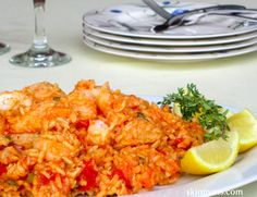 Flounder with Brown Rice, Tomatoes & Fresh Thyme