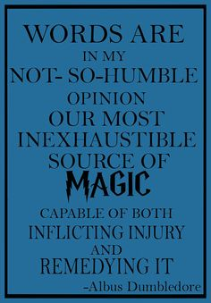 Harry Potter Dumbledore quote Art Pint Wall Art by geeksleeksheek