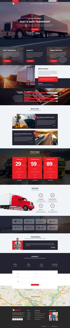 Buy Eagle - Logistics, Cargo & Transportation WordPress Theme by modeltheme on ThemeForest. Want to create and incredible Logistics/Warehouse/Transportation theme? Sick of testing and evaluating themes? Blog Design, Web Design, Minimal Theme, Wordpress Website Design, Transportation Theme, Premium Wordpress Themes, Minimalism, Eagle, Theme Ideas