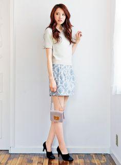 可愛らしさと女性らしさを兼ね備えた♡デートコーデ♡スタイル・ファッションの参考に♪