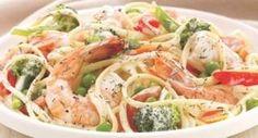 Recipe Inspirations Shrimp and Pasta Primavera: Recipe Inspirations makes trying McCormick