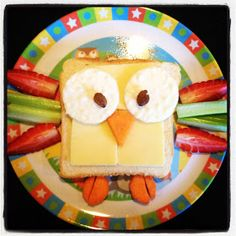 Easy Toddler Food: Lunch was a Hoot!