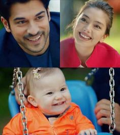 Look at my daughter smile. Her smile is exactly like mine. But her cheeks are yours. Best Love Stories, Love Story, Love You More, My Love, Kiss Me Love, Burak Ozcivit, Funny Arabic Quotes, Endless Love, Together Forever