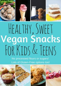 Healthy Vegan Snacks for Kids