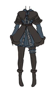 Hobbit inspired dresses. Fili, Thorin and Kili.