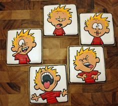 Ok, these are cookies... But I'm thinking... wait for it... Coasters.  mind blown.  : )