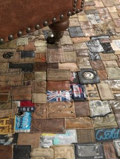 #Recycled Jean Part Rugs