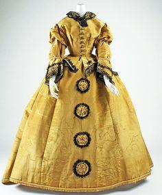 Dress Date: 1867–68 Culture: American Medium: silk