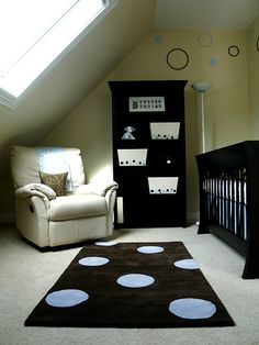 Black & White Polka Dot Nursery