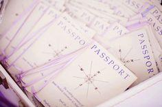passport wedding program
