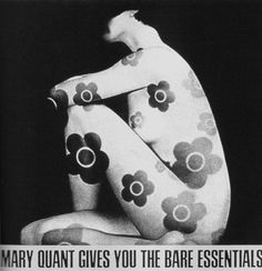 Bare Essentials make-up by Mary Quant OOh careful. The nudity fuddy duddies may report this pic :) Fashion Mag, Mod Fashion, Peggy Moffitt, Androgynous Look, Mary Quant, Bare Essentials, And Peggy, Cool Style, My Style
