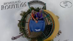 Movieland Park 2019 Route 66 Halloween Special (Joker & Harley Quinn Cos... Harley Quinn Cosplay, Joker And Harley Quinn, Route 66, Vr, Halloween, Movies, Films, Movie, Film