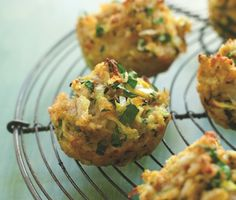 zucchini bites that are easy to make in mini muffin tins (and look delicious)