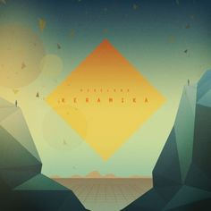 Love the geometric mountains opening up onto this impossible sun. The spectators on the side give it a nice scale/touch. Geometric Mountain, The Spectator, Open Up, Geometry, Illustration, Artwork, Albums, Scale, Touch
