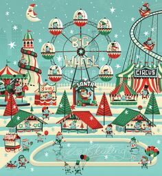 Christmas Ideas / 7up Wonderland on the Behance Network — Designspiration