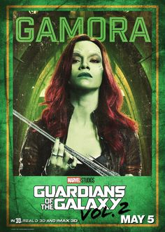 Guardians of The Galaxy Vol 2 Character Posters | Reggie's Take.com
