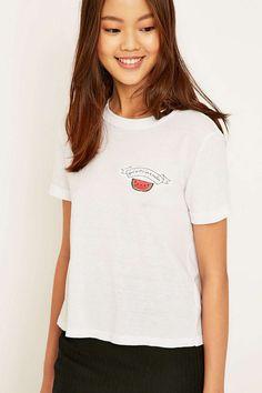 Future State - T-shirt Romance motif pastèque à bords contrastants