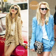 Short Suits - Dressy and Casual