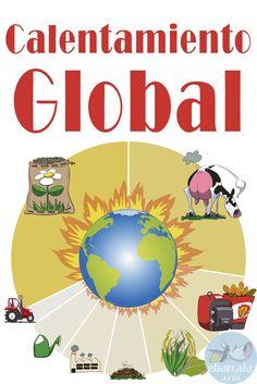 #Calentamiento global. Efecto invernadero. Estos son los elementos que más contribuyen. Dale un toque de humor a tus #infografías. Riguroso no es sinónimo de aburrido!! #global warming!!