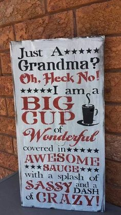 54 Ideas for quotes family grandparents wood signs Sign Quotes, Cute Quotes, Great Quotes, Funny Quotes, Inspirational Quotes, Mom Quotes, Funny Grandma Quotes, Funny Humor, Motivational