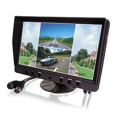 9 Inch Car Quad Digital LCD Monitor(Four Camera Inputs) – € 107.52
