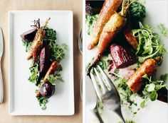 Balsamic Roasted Root Vegetables /  60 Thanksgiving Side Dishes To Make Absolutely Everyone Happy (via BuzzFeed)