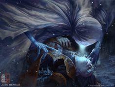 Niblis of Frost , Josu Hernaiz on ArtStation at https://www.artstation.com/artwork/3a5bo